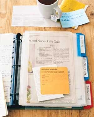 Organizing Your Recipes: 8 Foolproof Methods from RealSimple