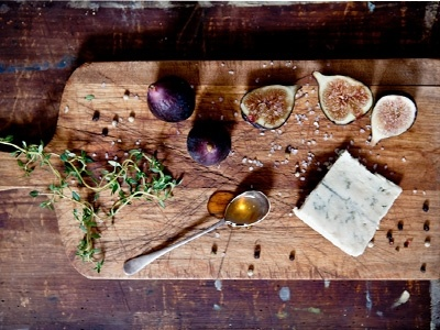 fig, gorgonzola and honey tartines | t h i s a n d t h a t | Pinter…