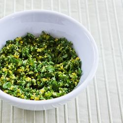 How to Make Gremolata and Recipe Ideas for Using Gremolata from Kalyns ...