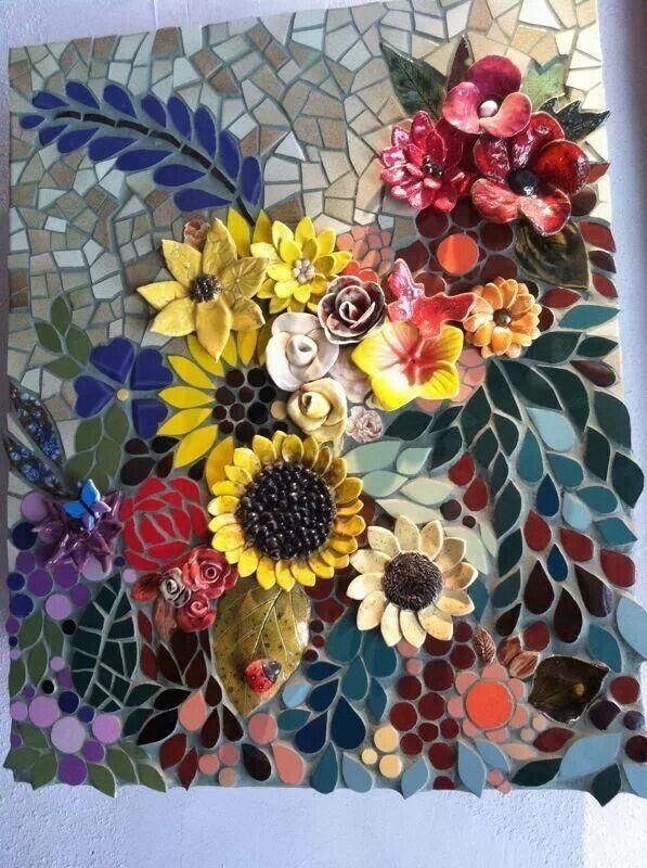 Beautiful Cool Mosaic Ideas Pinterest