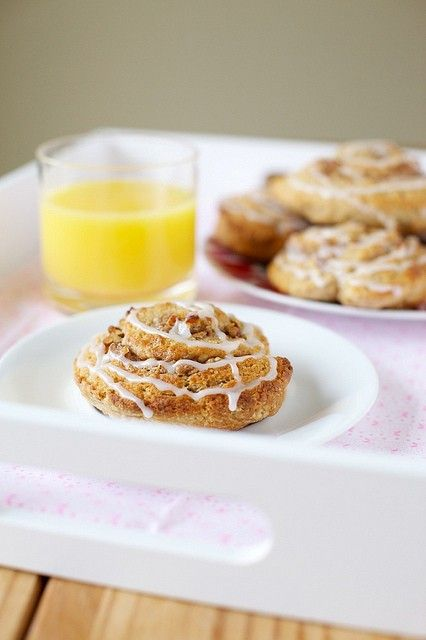 Cinnamon roll scones from Annie's Eats | First Impressions (recipes f ...