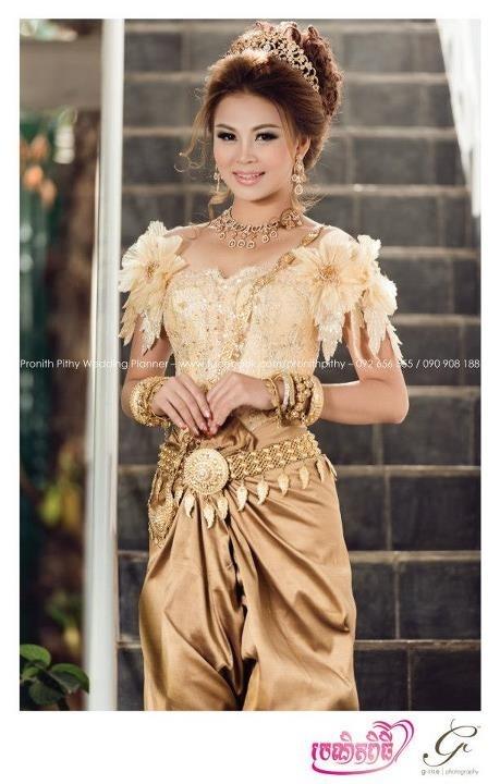 Khmer wedding dress wedding pinterest for Khmer dress for wedding party
