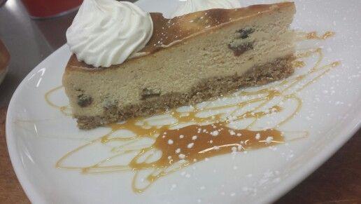 Oatmeal Rum Raisin Cheesecake | by me | Pinterest