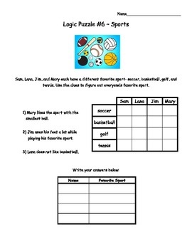 critical thinking puzzles for elementary students