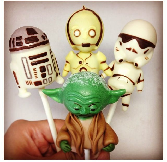 Star Wars Cake Pop Images : Star Wars cake pops Cakes Pinterest