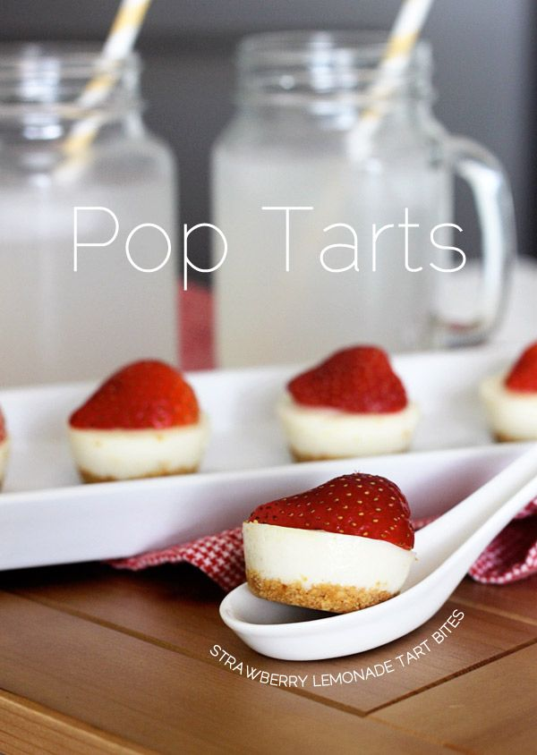 No-Bake} Strawberry Lemonade Tarts | Food | Pinterest
