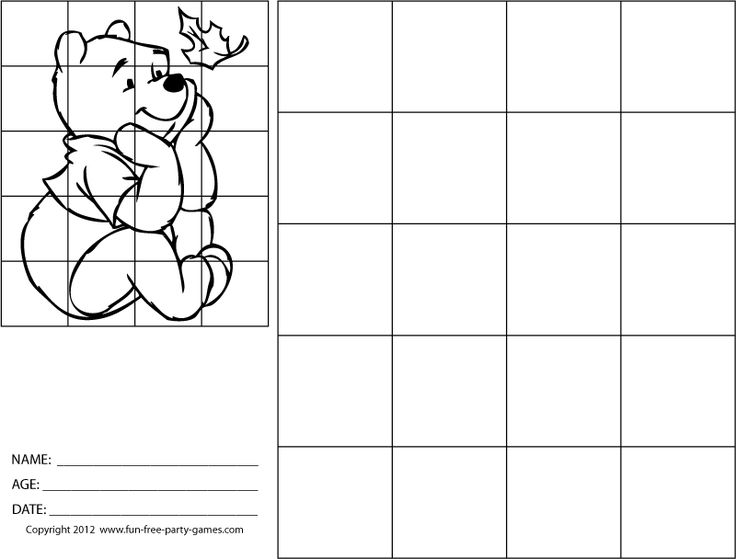 Grid Drawing Practice | Teaching Art: Grid Exercises and Projects ...