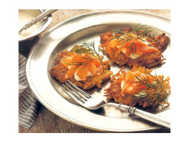 Smoked Salmon Tartare And Potato Chip Canapes Recipes — Dishmaps