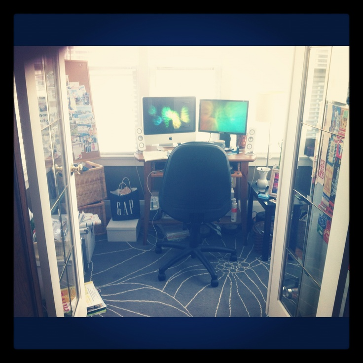 Christine's magical home office!