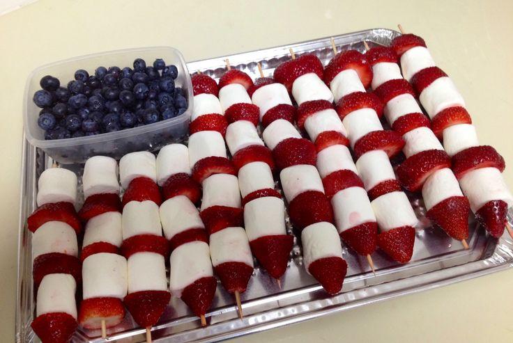 4th of july marshmallow recipes