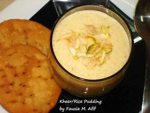 Kheer/Rice Pudding | Recipes & Drinks we Love | Pinterest