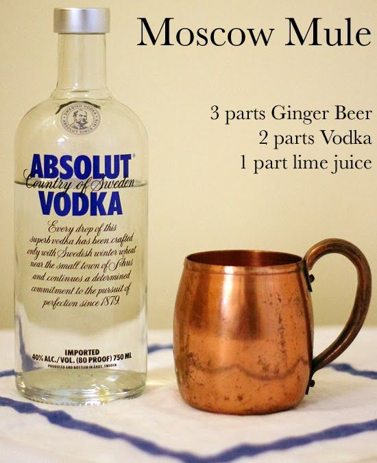 Moscow Mule recipe | Get in my belly | Pinterest