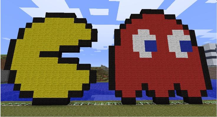 Pacman Pixel Art Minecraft Minecraft Pixel Art Templates