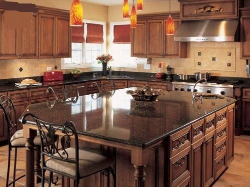 Large Kitchen Island With Seating Kitchen Pinterest