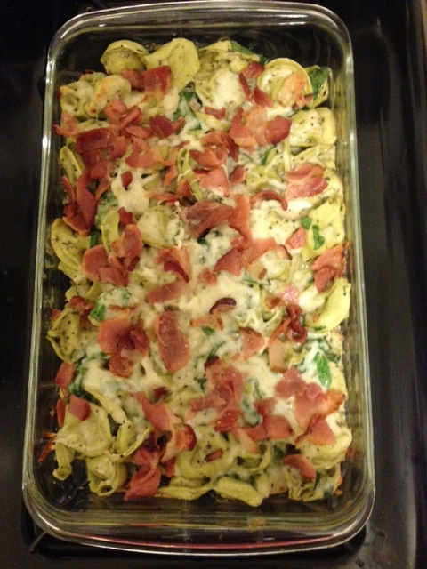 Baked Tortellini With Bacon Recipes — Dishmaps