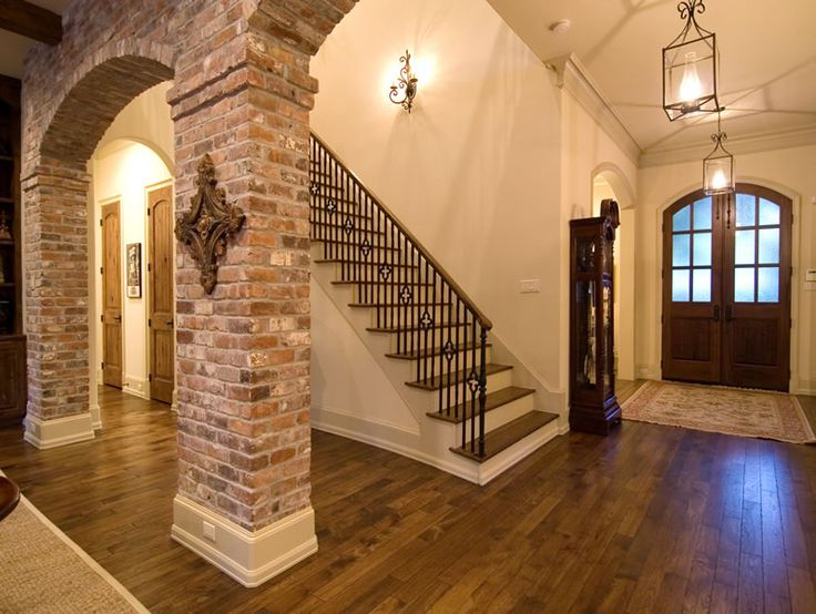 Brick Arch Design For The Home Pinterest