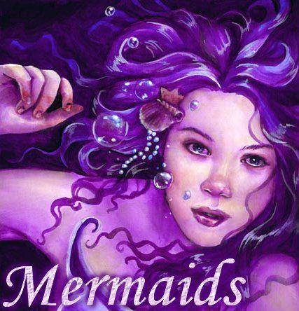 Mermaids All Things Purple Pinterest
