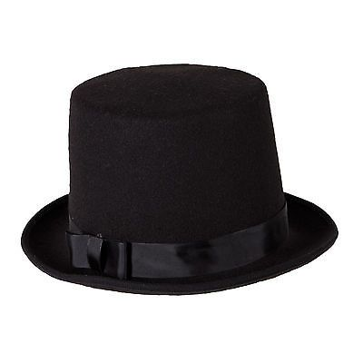 New Stove Pipe Top Hat Magician Circus Ringmaster Fancy Dress Party A ...