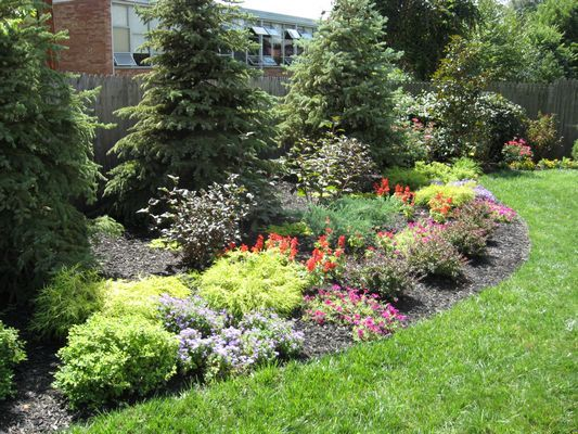 Perennial flower garden ideas photograph perennial flower for Perennial landscaping ideas