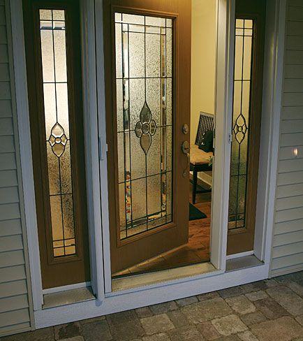 Odl decorative door glass nouveau entryways pinterest - Odl glass door inserts ...