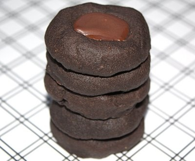 Chocolate Mint Thumbprint Cookies | Dessert Recipes | Pinterest