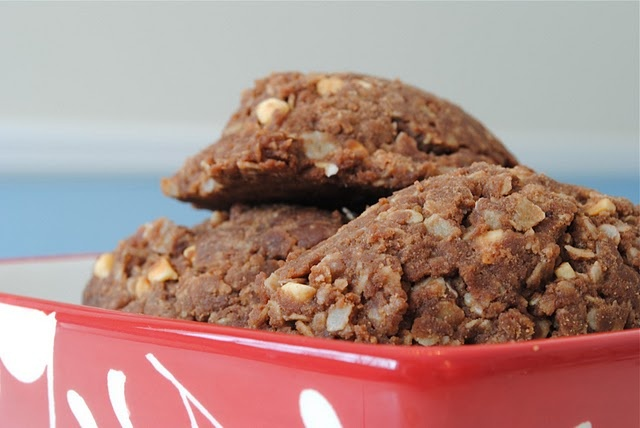 peanut butter oatmeal fudge cookies