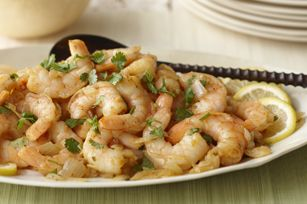 Kraft Cilantro Lime Shrimp. Just skip the balsalmic vinegar dressing.