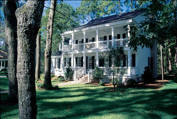 Colonial southern house plan 86218 for Historic southern house plans