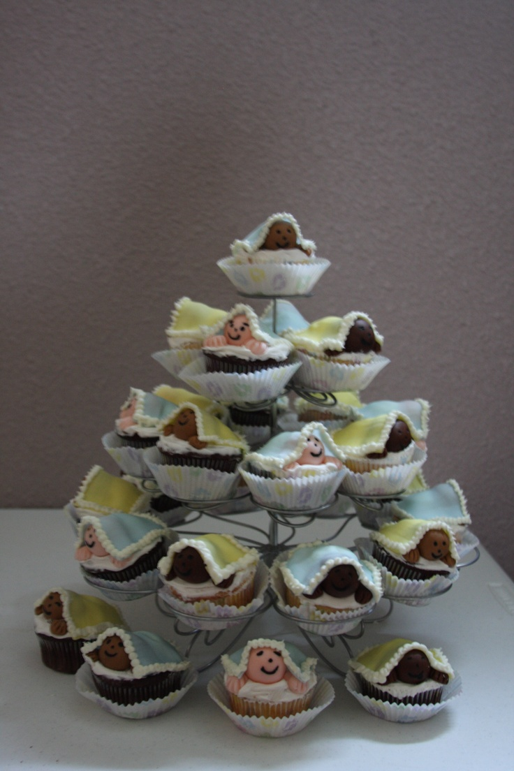 Baby Shower Cupcake Ideas On Pinterest : Baby Shower cupcakes