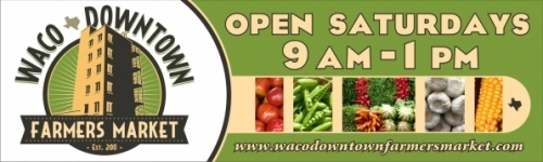 #Waco Downtown Farmers Market - this is a must for me! Local grown food ♥