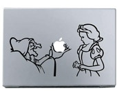 The Wicked Witch MacBook Apple Mac Decal Sticker Vinyl
