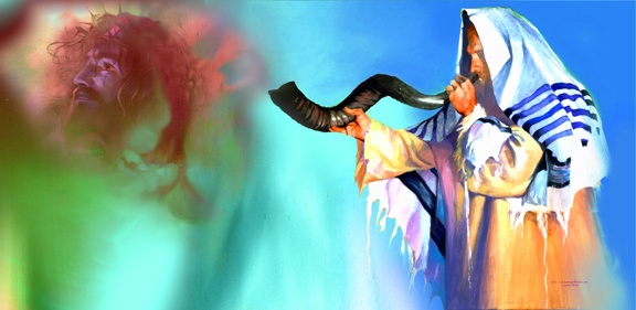 when is the shofar blown on rosh hashanah