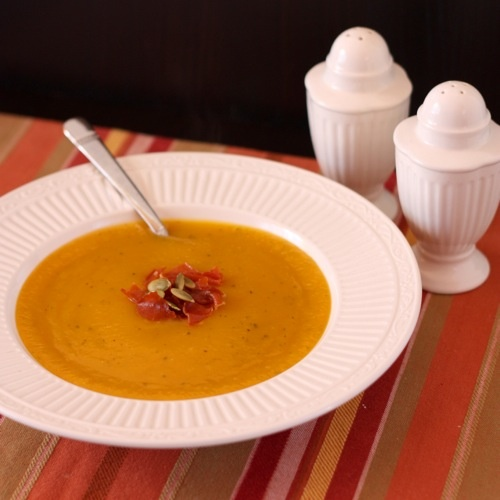 This velvety Butternut Squash Soup will warm your soul with the ...