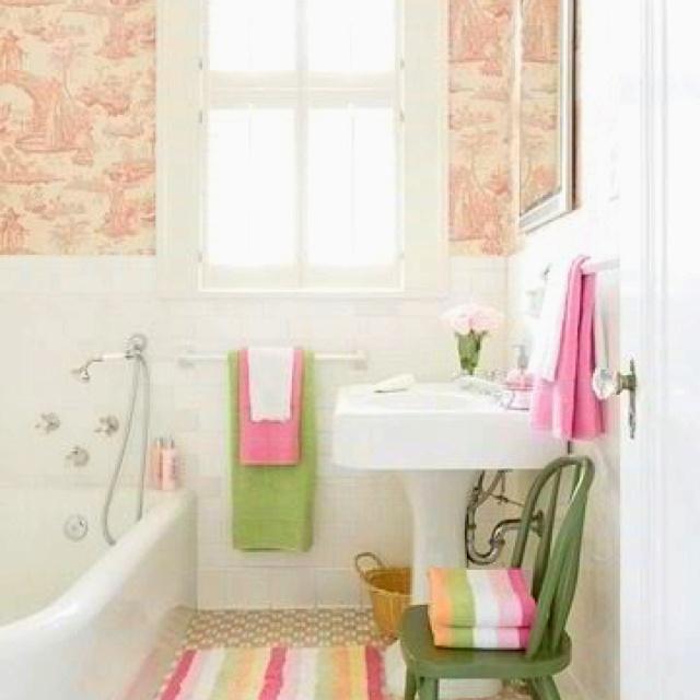 Cute Girls Bathroom Girls Bed Bath Pinterest