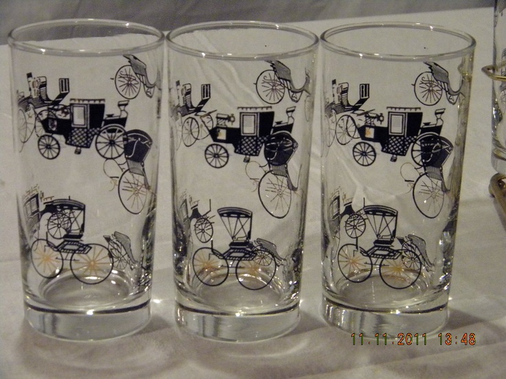 Antique English Drinking Glasses