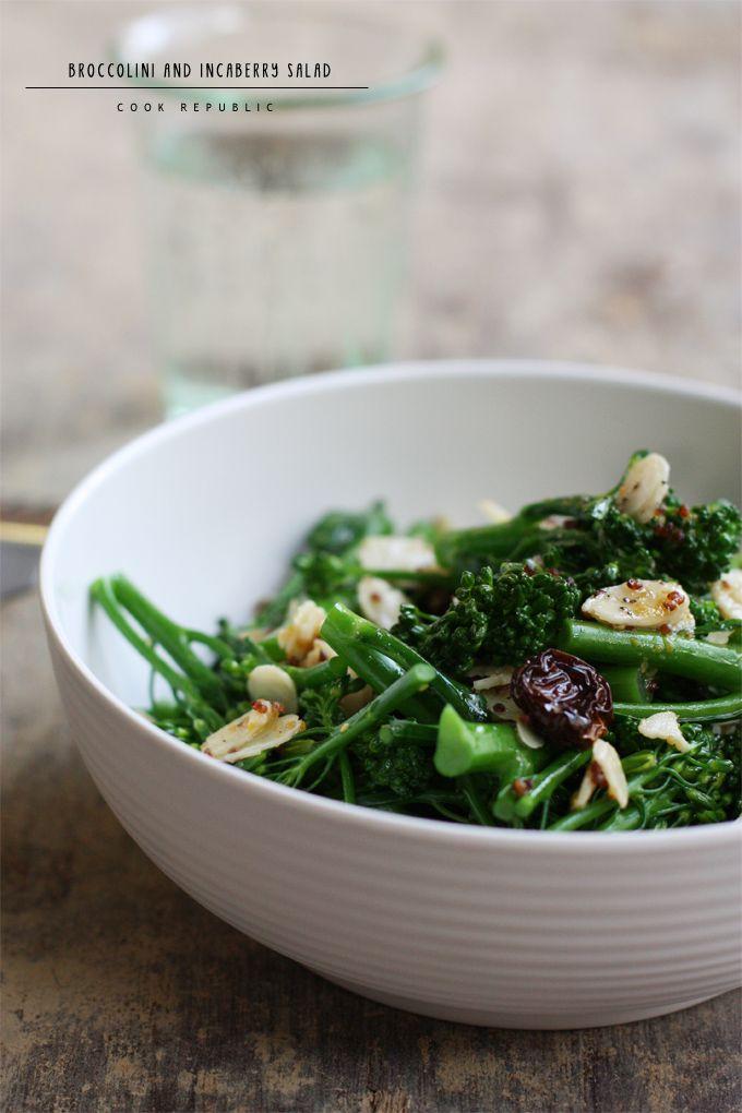 Broccolini And Incaberry Salad - Cook Republic