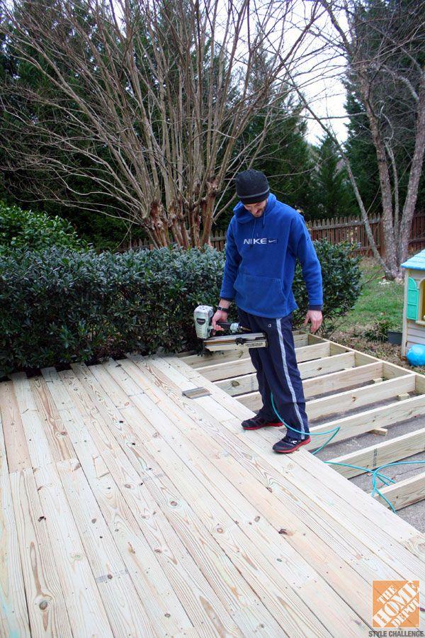 Small Deck Over Concrete Patio