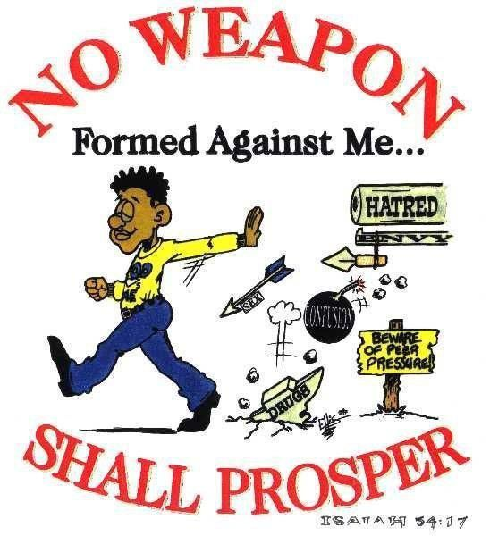 No weapon....!
