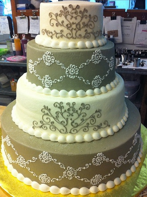 wedding cakes by ann 39 s bakery in tulsa wedding cake muted colours
