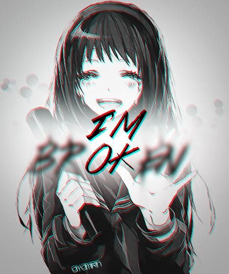 Anime Picture Broken Hearted