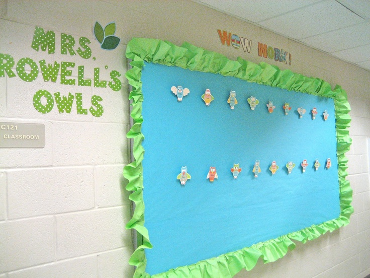 Classroom Border Ideas : Ruffle bulletin board border classroom ideas pinterest