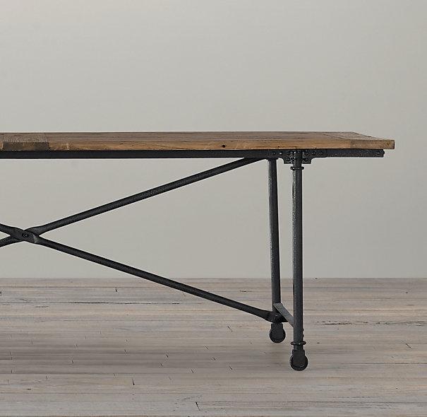 Restoration Hardware Flatiron Table Dining Room  : 53b584599ebd2b041b0f3478adb7b96f from apachewe.us size 605 x 590 jpeg 64kB