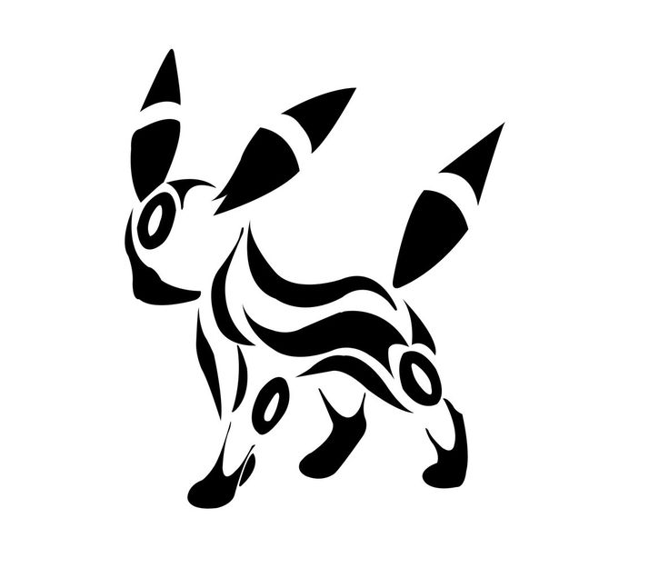 Umbreon tattoo!!! | Tattoos | Pinterest