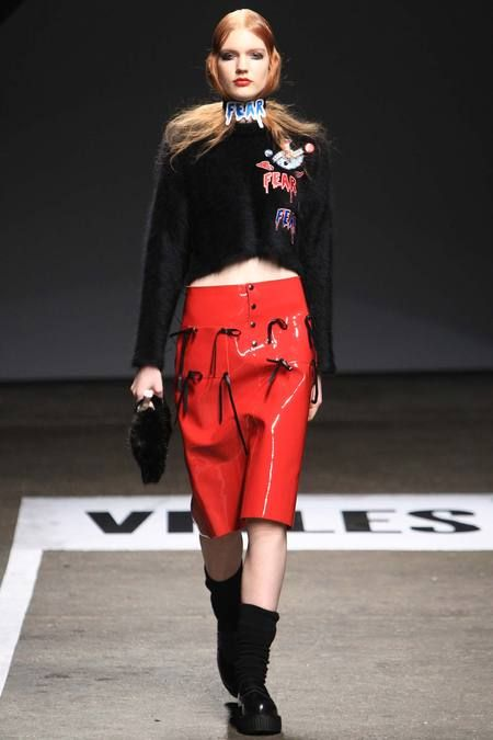 Hyein Seo at VFILES | Fall 2014 Ready-to-Wear Collection | Style.com