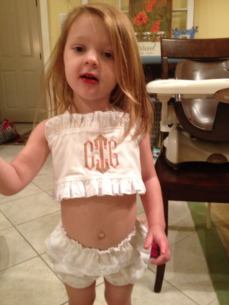 Monogrammed kids bathing suit | Monogramming | Pinterest