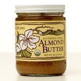 Almond butter made from fresh raw Yolo County almonds.