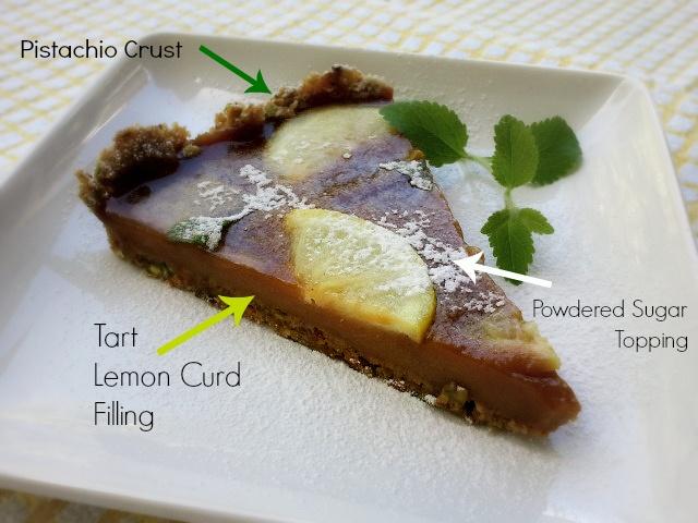 Lemon Curd-Pistachio Sundaes Recipe — Dishmaps