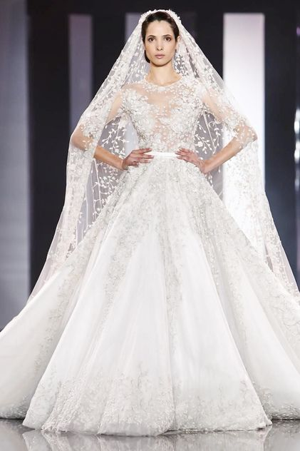 Ralph & Russo Couture Fashion - Paris Fashion Week 2014