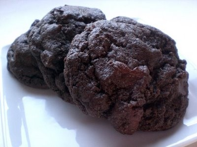 Double Chocolate Chunk Cookies | Recipes | Pinterest