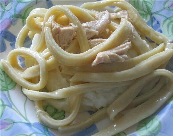 homemade chicken and noodles yummy | Food Glorious Food! | Pinterest